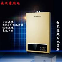 燃气热水器 分段燃烧恒温热水器304不锈钢热交换器 智控热水