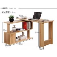 360度旋转电脑桌转角电脑桌