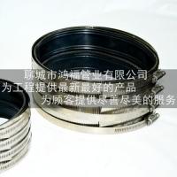DN150柔性铸铁管抱箍 w型铸铁排水管直接