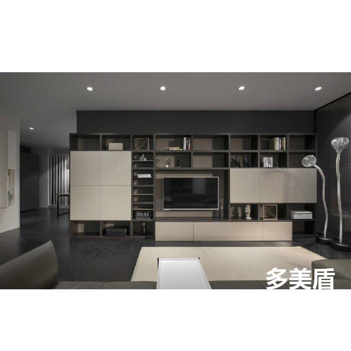 极简系列客厅-南京多美盾全屋定制
