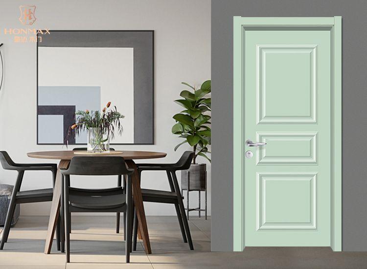 豪迈木门F8029现代复合烤漆系列简约室内门彩色木门
