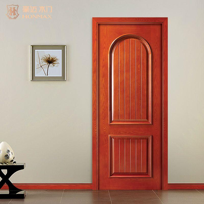 豪迈木门S4025经典室内实木装板扣线造型门套装门