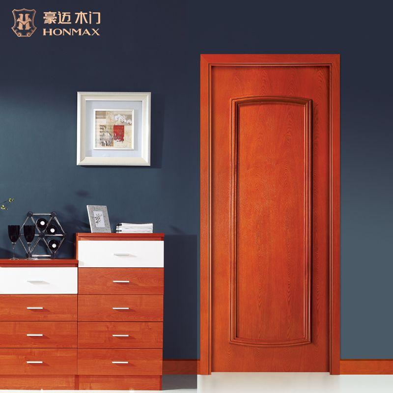 豪迈木门S2020现代健康环保室内门经典实木门套装门