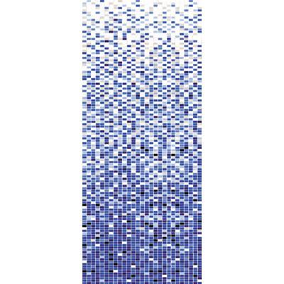 彩花陶瓷马赛克; 好看的蓝色渐变背景; 风窗玻璃除雾器标志图片分享;