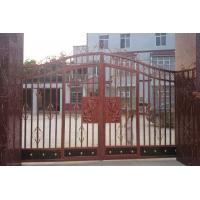 湖南锌钢大门|陆志建材锌钢别墅静电喷涂锌钢艺术烤漆大门