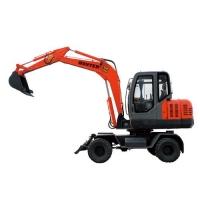 恒特65-8小型轮式挖掘机