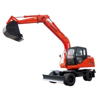 恒特150轮式挖掘机进口配置