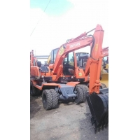 新源挖掘机XY65-8小型轮式挖掘机