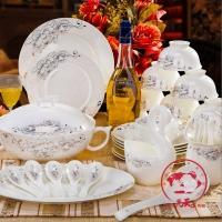定做陶瓷碗盘碟家用餐具酒店餐具食堂餐具 景德镇陶瓷餐具
