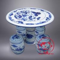 陶瓷桌凳 户外家具瓷桌瓷凳放置在庭院、露台、阳台雅致高贵