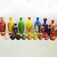 瓷器罐子 陶瓷药罐 陶瓷食品罐