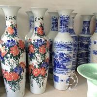 供应开业庆典礼品花开富贵陶瓷大花瓶