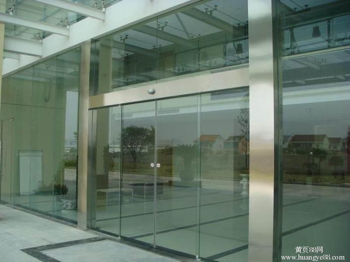 杭州玻璃感应门 杭州自动感应门