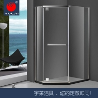 高端304不锈钢淋浴房多种款式非标定制13418466778