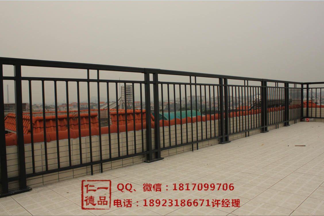 一品仁德铝合金焊接阳台护栏 玻璃护栏 围墙栏杆