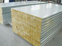 岩棉净化彩钢复合板