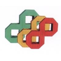 九龙实业光面彩色砖-8字植草砖
