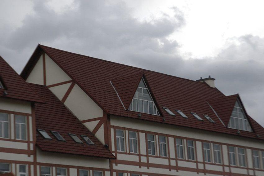 金属瓦片彩石防火瓦彩瓦沥青瓦新型瓦别墅瓦木屋瓦项目工程屋顶瓦