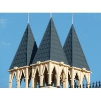 彩石金属瓦 别墅瓦防水瓦屋面瓦金属瓦屋顶瓦 瓦片圆型瓦16种