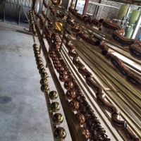 佛山不锈钢管 不锈钢圆管 玫瑰金方管