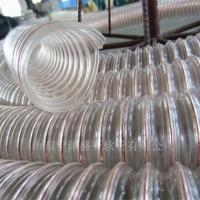 食品级不含塑化剂的PU透明钢丝螺旋管