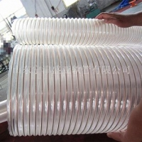 PU钢丝螺旋伸缩管(通风除尘),可加工定制