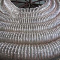 高耐磨PU钢丝管 颗粒输送软管 耐负压 耐低温