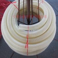 PU塑筋平滑软管  PU加筋管 塑筋骨架螺旋软管