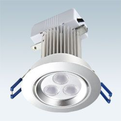 LED天花射灯、LED导轨射灯、LED格栅射灯