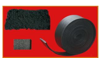 防火膨胀棉 电器隔热片 灯具材料