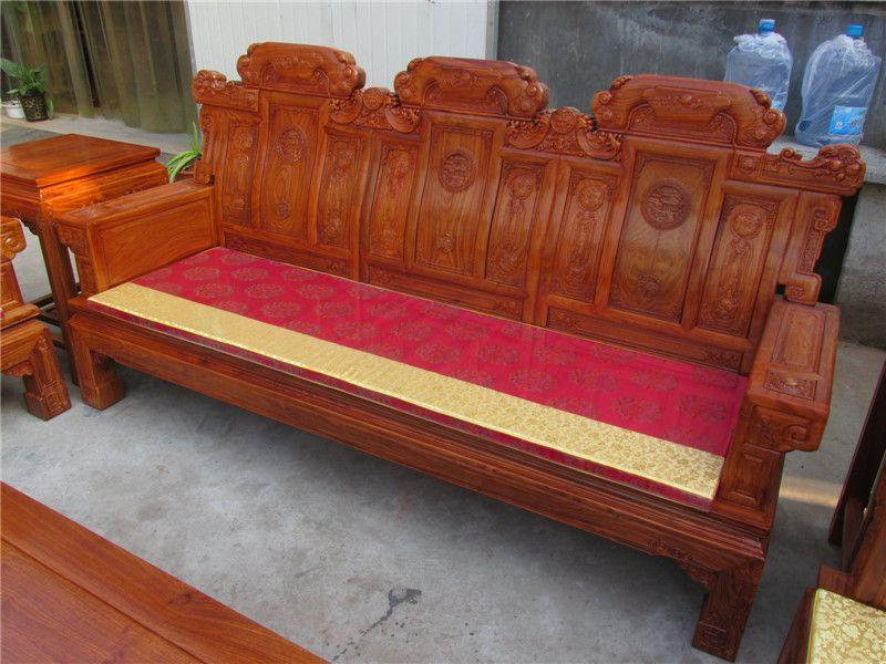 东阳卓瑞红木家具喜从天降沙发
