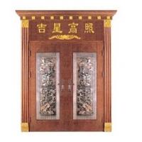 领牌-铜雕花门-佛山不锈钢门