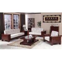 木言木语新房中式实木沙发,环保沙发新标准