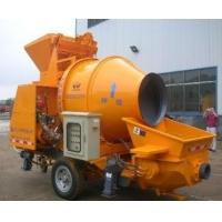 混凝土搅拌拖泵价格、搅拌输送一体机