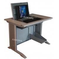 托克拉克TKLK-01翻转式培训电脑桌 液晶屏升降