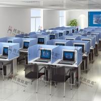 托克拉克英语听说测试机考卡座 考试隔音防作弊电脑桌