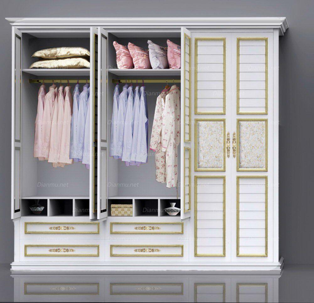 成都妮兰雅衣柜定制整体衣柜定做衣柜现代欧式美式衣柜家具订制图片图片