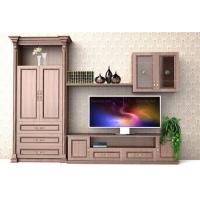 欧洛斯简欧风格彼得古柚莱登堡厅房电视柜定制