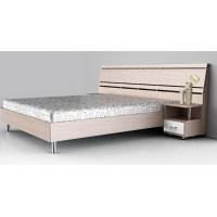 现代简约板式床定制