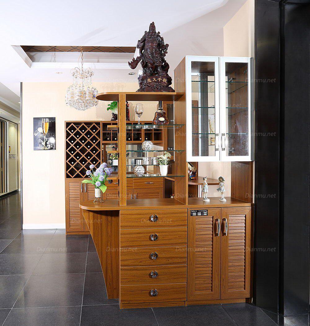 现代风格板式隔断柜酒柜定制图片
