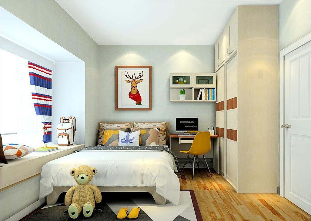 设计师说,孩子住这样的儿童房更聪明。