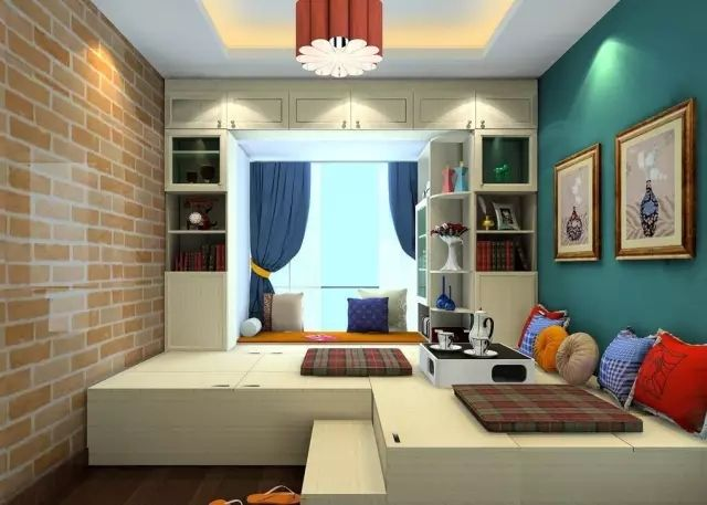 小房间变身儿童房  游乐园的灵感来源  孩子喜欢的不得了!