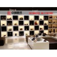 提供2016年南京鞋服展示展柜店面设计制作