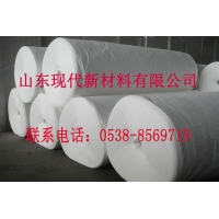 山东现代供应400g聚酯白色长丝布品质可靠无后顾之忧