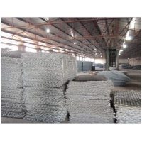 成都pvc包塑石笼网 pe覆塑格宾网笼 攀枝花石笼厂家