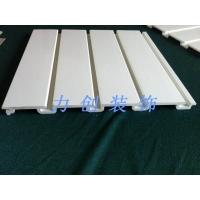 高档PVC槽板,商场展示板,坑板,挂板