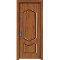 广东铝线条生态木门/铝合金线条强化门/佛山生态铝包边浮雕门