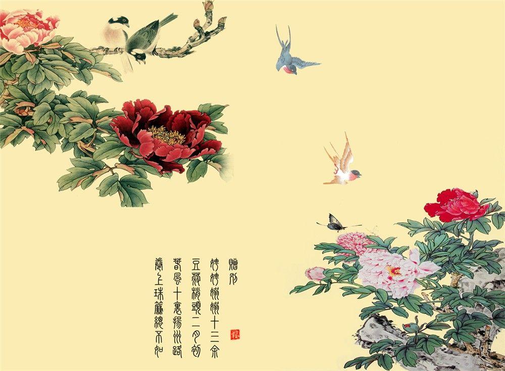 山水背景画/浮雕背景画/集成墙面板/陶瓷背景画/微晶石背景画