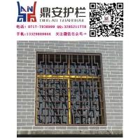 鼎安锌钢防护窗锌钢防护网组装防护窗