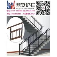 锌钢楼梯扶手组装式锌钢型材楼梯栏杆安装简单